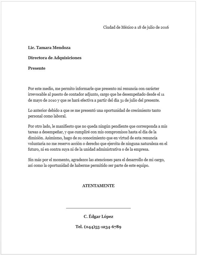 formatos carta de recomendacion