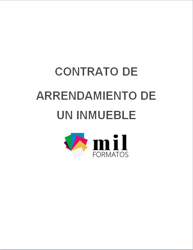 Contrato De Arrendamiento De Vivienda Ejemplos Y Formatos