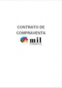 Formato de Contrato de Compraventa en Word