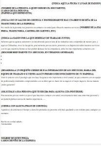 Formato de Carta de Presentación de una Empresa