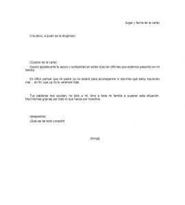 Formato de carta de agradecimiento a un compañero de trabajo