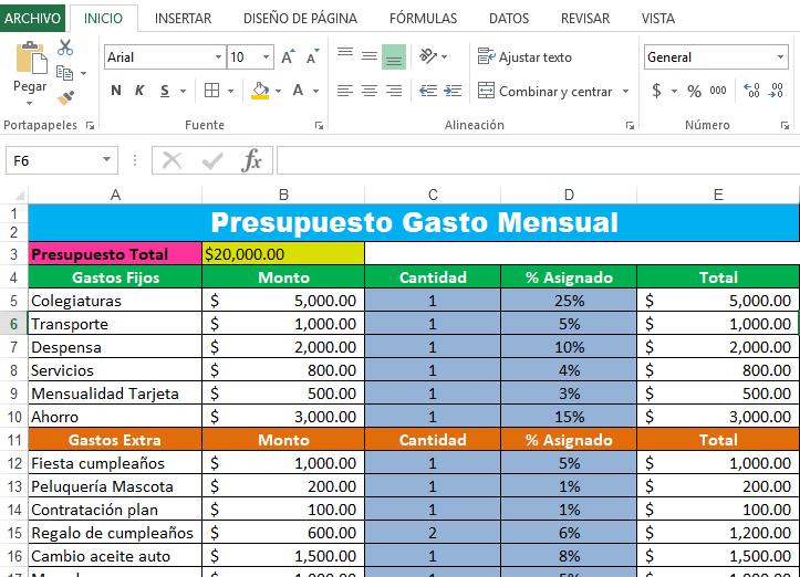 Plantilla-presupuesto