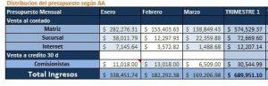 Ejemplo de presupuesto de empresa2