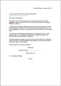 Formato Carta de Presentación Personal