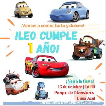 Plantilla para Invitación Infantil Niño - Canva - Editable Gratis