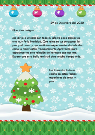 Carta decorada 5
