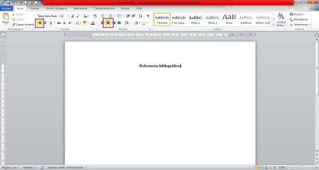 Cómo hacer una referencia bibliográfica - Paso 1