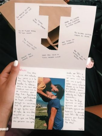 Diseño de carta de amor