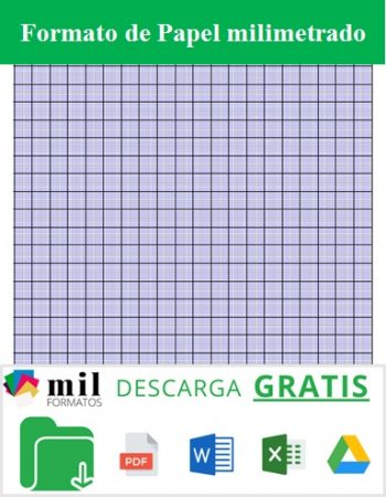Formato de papel milimetrado