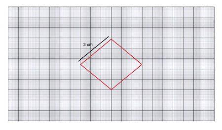 Ejemplo papel milimetrado