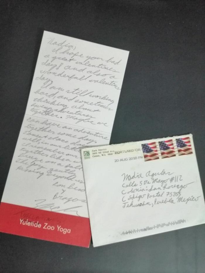 Ejemplos de una Carta Postal Personal